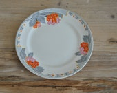 Vintage Tams Ware Greystone Small Dinner Plate 7.75""