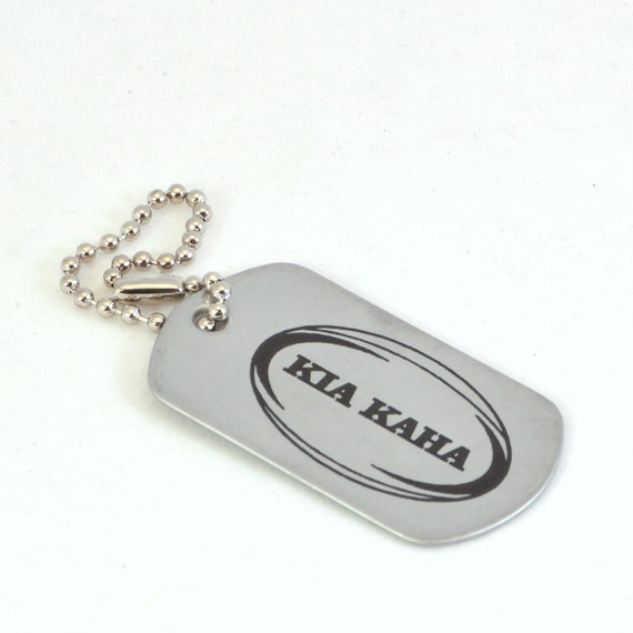 items similar to personalized inspirational dog tag kia