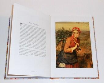 "Poetry Book ""The Winter Garden"" 1992 Victorian Illustration Prints Vintage Ephemera"