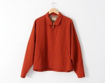 1950s Arrow Pin-Hi golf jacket in men's size large