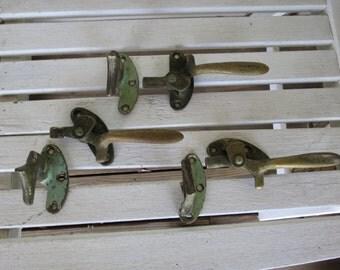 Vintage Industrial Door Latch