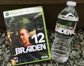 Xbox Gamer Invites for DVD Case/ Water Bottle Label DIGITAL or PRINTED