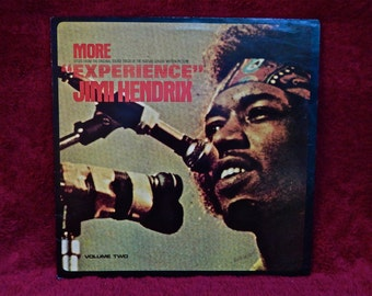 JIMI HENDRIX - More Experience...Original Motion Picture Soundtrack  - 1972 Vintage Vinyl Record Album