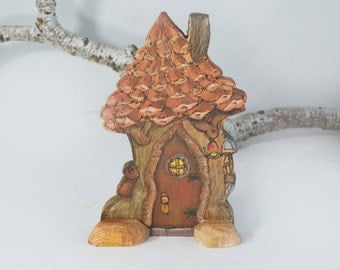 Willodel Playscape Fairy House with flat back