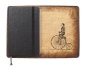 Moleskine Leather Notebook Cover [Large & Pocket Sizes][Customizable][Free Personalization] - Penny Rider