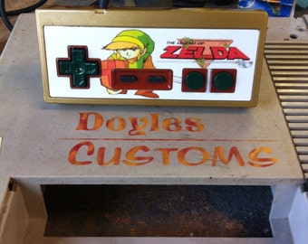 Legend of Zelda custom nes controller