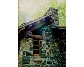 Cabin photography, woodland photography