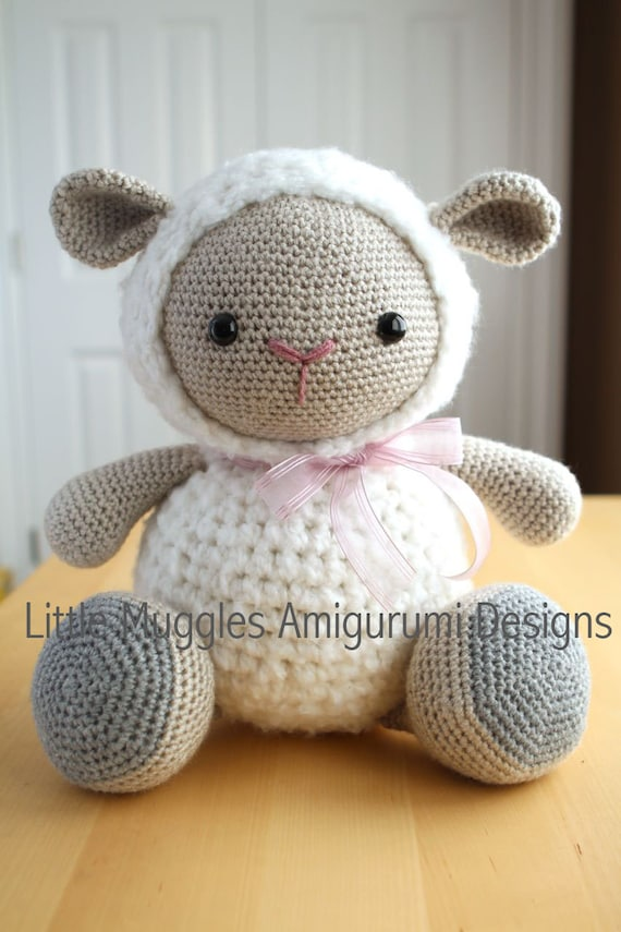 Mario Amigurumi Free Pattern : Amigurumi Crochet Pattern Cuddles the Sheep