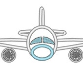 Airplane - machine embroidery applique and fill stitch designs - 4x4, 5x7 and 6x10 INSTANT DOWNLOAD