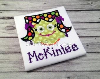 Fun Girls Halloween Frankenstein shirt