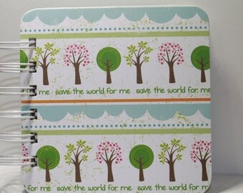 Save the World Password Book