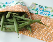 Reusable Sandwich Bag Pattern PDF Sewing Pattern Easy Reusable Fabric Baggies Cotton Fabric