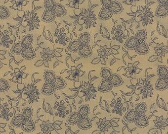Lexington Tan Floral Etched by Minick & Simpson for Moda