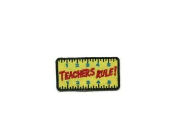 Teachers rule magnet