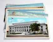 10 Vintage Cedar Rapids Iowa Postcards Used