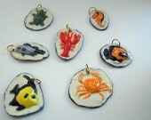 Seashore pendants