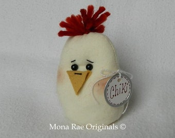 Easter Decoration ~ Little Chiki ~ 6 1/2 Inches Tall