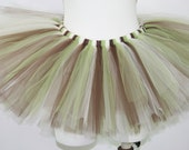 Army Inspired Adult Teen Marathon Running Tutu