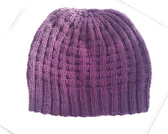 Hand Knit Adult Hat