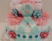 Precious Baby Girl Diaper Cake
