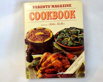 Vintage PARENTS MAGAZINE COOKBOOK.. Rita Molter 1978.. 672 Pages Hard To Find