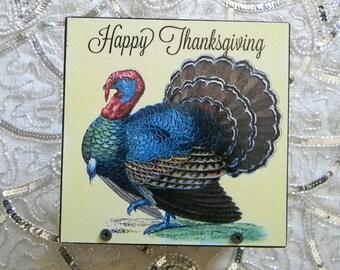 Happy Thanksgiving Decorative Napkin Holder