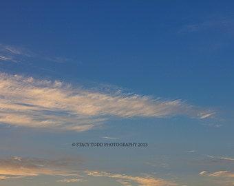 Autumn Sunset Cloud Overlays