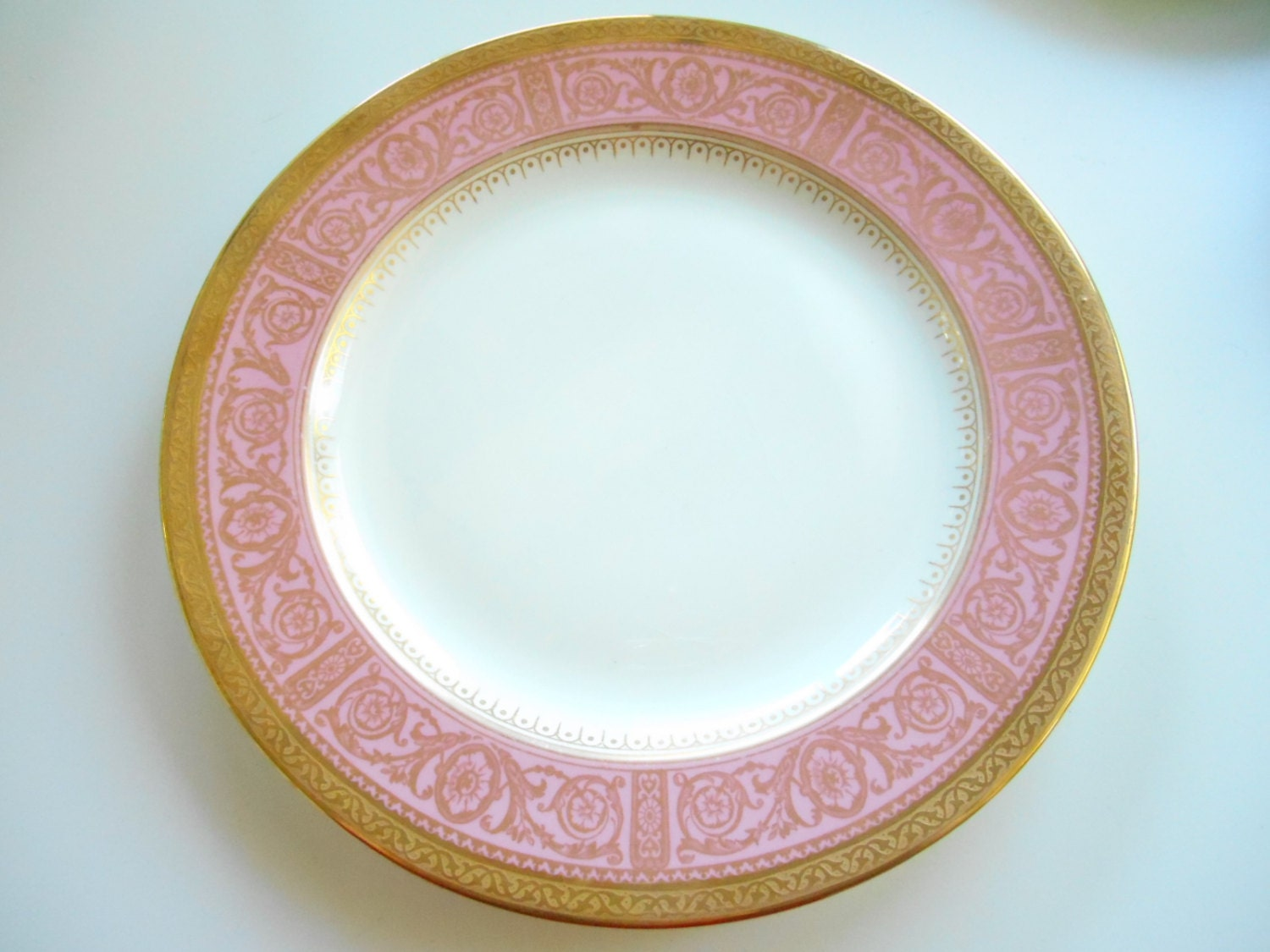 ... goth wedding ste&unk wedding Thanksgiving plates thanksgiving dishes dish skull dinnerware entomology dinnerware insect plates insect dishes & Pink and Gold Wedgwood Dinner Plate 11\