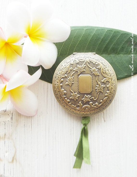 "Natural Solid Perfume Locket ""Soleil"""