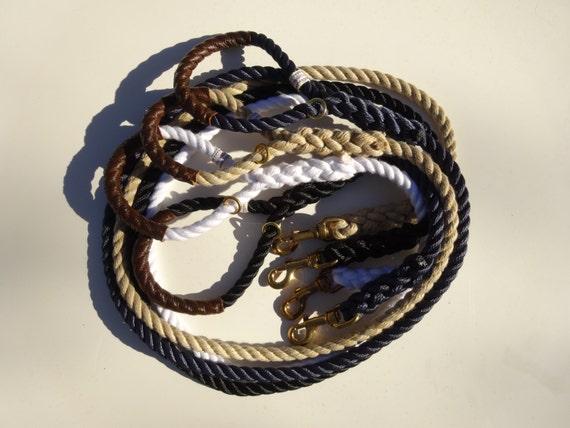 """Nautical Dog Leashes - The Fair Lead """"Classic"""""""