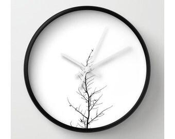 Single Tree Wall Clock