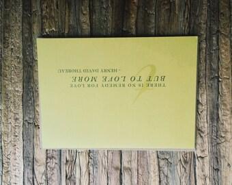 Remedy For Love - Henry David Thoreau
