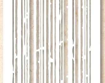 Tim Holtz Layering Stencil - Stripes