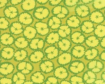 CLEARANCE!  LOL, Moda Fabric, Me and My Sister Designs, Green, 1/2 Yard
