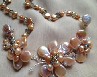 Bridal Beadwork Necklace