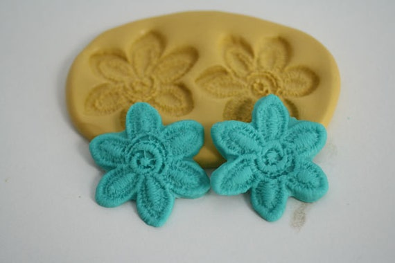 Flower lace mold for cake decorating chocolate by ...