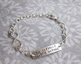 To Infinity and Beyond Sterling Silver Bracelet