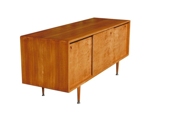 mid century media console tv stand 60 by orwadesigns on etsy. Black Bedroom Furniture Sets. Home Design Ideas