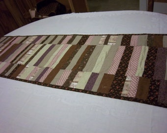 Large Browns Table Runner 16 x 60