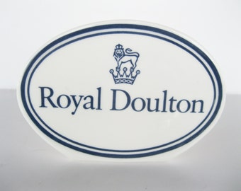 Royal Doulton Advertising Sign Fine China