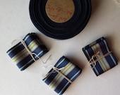 "hatband ribbon . vintage roll of hatband . 40"" of vintage hat band ribbon . vintage Grosgrain Ribbon . hat supplies"