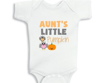Aunt's little Pumpkin baby bodysuit or Infant T-Shirt