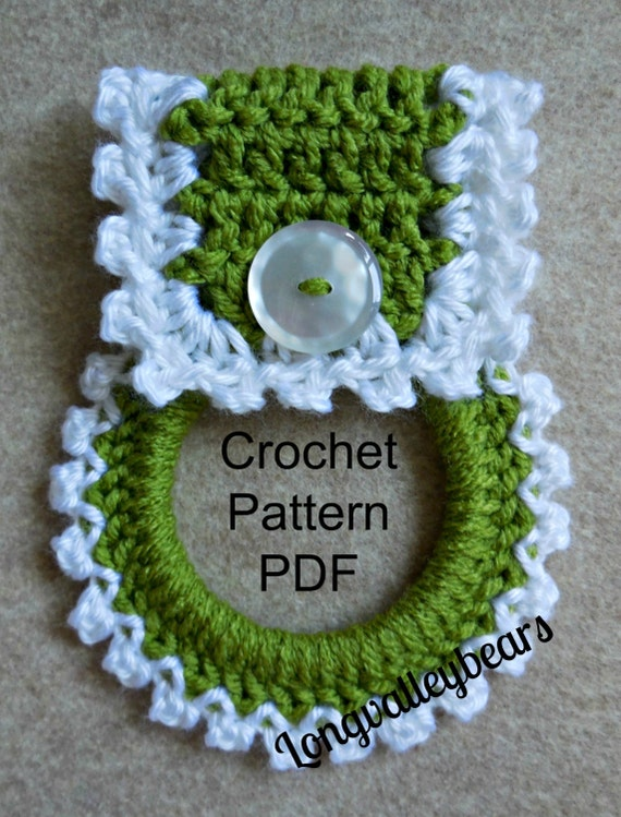 Crochet Patterns Kitchen Towels : Crochet Kitchen Towel Holder Pattern, Pattern to make your own kitchen ...