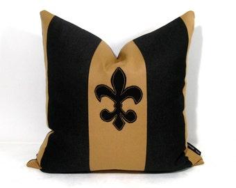 Sale Fleur De Lis Pillow Cover New Orleans Pillow