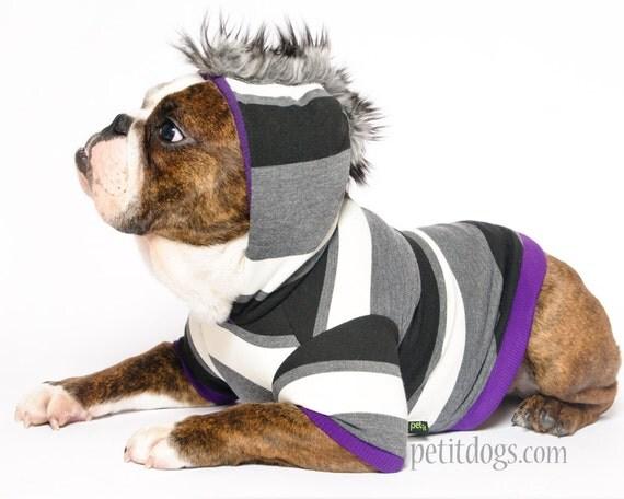 Dog Mohawk Sweater Dog Clothes Mohawk Grey And