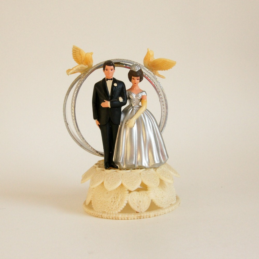 Cake Topper 25th Wedding Anniversary By SentimentalFavorites