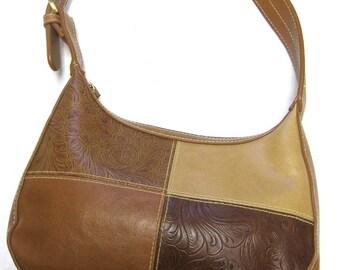 Brown Purse Western Saddle Tan Shoulderbag Handbag