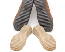 Rubber soles black for your own projects - Supply for felted crochet shoes, snow boots