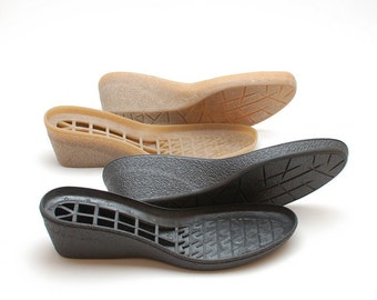 Rubber wedge soles for your own shoemaking projects - Supply for shoes boots