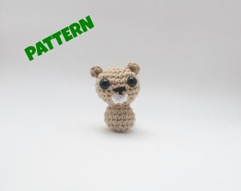 Beaver Pattern / Christmas Pattern / Black Friday / Crochet Toy Pattern / Kids Toy / Crochet Amigurumi Pattern / Woodland Pattern / Pet Toy